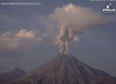 Volcano Erupts in Mexico After Massive Earthquake Wrecks Ecuador -- CALIFORNIA IN DANGER?
