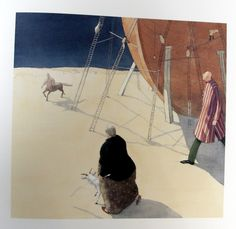 Lisbeth Zwerger - Noah's Ark. Lisbeth Zwerger, Food Illustrations, Illustration Art, Psychedelic Drawings, Kunst Online, Peter Paul Rubens, Principles Of Art, Children's Picture Books, Art Academy