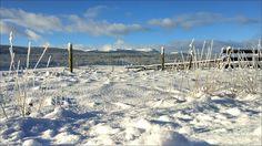 Winter on the Telkwa Mountain Range Walcott Road. Houston, BC. Travel Houston British Columbia