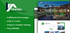 cool Shelter - True Estate &amp Home HTML Template (Company)