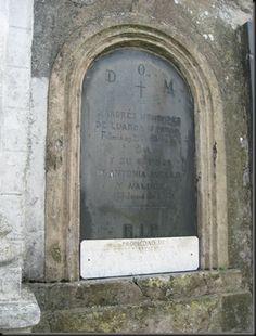 Cementerios de Luarca 062  Andres Menendez de Luarca y Antonio Avello Valdes 1868