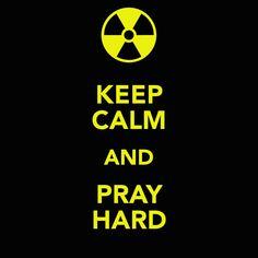 keep calm and pray on   KEEP CALM AND PRAY HARD - KEEP CALM AND CARRY ON Image Generator ...