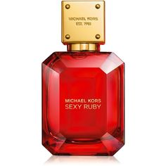 Michael Kors Sexy Ruby (EDP) ($60) ❤ liked on Polyvore featuring beauty products, fragrance, eau de perfume, michael kors fragrance, eau de parfum perfume, edp perfume and michael kors perfume