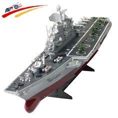 Remote Control Challenger Warship Aircraft Carrier High-speed Large Electronic Model For Kids Toys Дистанционное Управление Лодка
