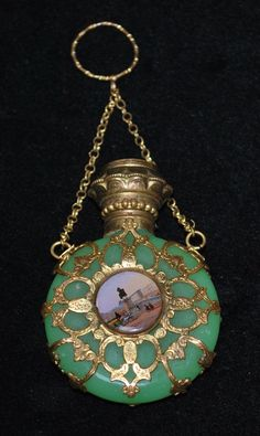 Antique French 19th Century Scent Bottle