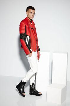 Balmain Spring 2015 Menswear Fashion Show