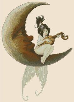 Fairy - Moon Sonet by Pascal Moguerou