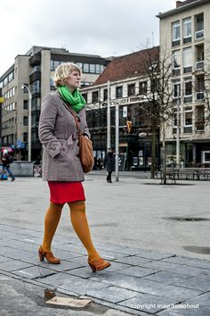 colourful on the streets of Antwerp