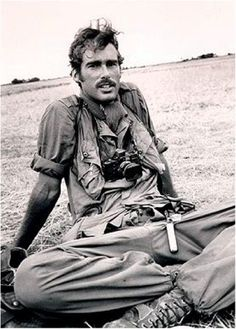 Photojournalist Sean Leslie Flynn. Born 31 May 1941, Los Angeles, California. Disappeared 6 April 1970, Cambodia