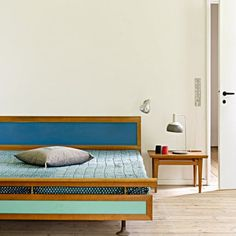 Bedroom in Finn Juhl's home | Marie Claire Maison