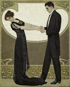 Clarence Coles Phillips (1880-1928) So Romantic <3