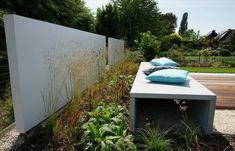 ECO Tuinarchitectengroep | projecten | Moderne lounge tuin