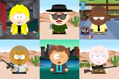 Breaking Bad – South Park Characters