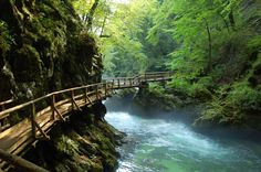 The breath taking Tolmin's walking route is the most beautiful sight of nature in Slovenia