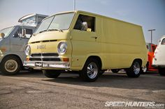 #yellow Dodge A100