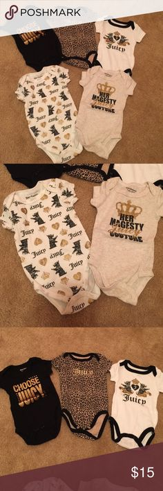 ‼️Juicy couture baby ‼ beautiful onesies Great condition Juicy Couture Other