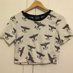 Shop Women's ROMWE Black White size S Crop Tops at a discounted price at Poshmark. Description: Size S Boy London, Romwe, Product Description, Buy And Sell, Crop Tops, Black And White, Blouse, Beauty, Fashion