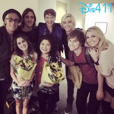 """Photos: R5 At The Live Audience Taping Of """"Austin"""