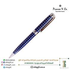 #picasso_and_co #pens model : P919BLS #قلم ماركة #بيكاسو_اند_كو لون كحلي خطوط متعامدة على كامل جسم القلم الخارجي مع لاقط معدني بلون #فضي نوع الخرطوش: بول بوينت حجم الخط: 0.5 مم. طول القلم مغلق: 14 سم. مع علبة فخمة للطلب عبر المتجر الالكتروني: www.elitegift.com.sa واتساب: 00966555146516 #محافظ_رجالية #كارد_هولدر #كبكات #اكسسوارات_رجالية #مسباح #سبح #ساعات_اصلية #اقلام #اناقة #fashion #elegance #freeshipping #elitegift #ksa #cufflinks #cardholder #watches #wallet  Writing Instruments, Gifts, Presents, Favors, Gift