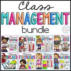 Classroom Management: Class Jobs, Reward Coupons, Transiti