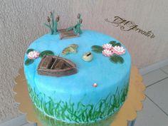 #TMJcreative #birthdaycake #fisherman