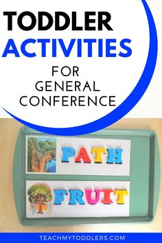 Below are some fun and easy General Conference activities for toddlers and preschoolers! Coloring Toddlers love coloring, so print off these line art drawings from the LDS Church website for Art Activities For Toddlers, Color Activities, Hands On Activities, Teaching Shapes, Teaching Letters, Toddler Preschool, Toddler Crafts, Toddler Drawing, Visiting Teaching Handouts