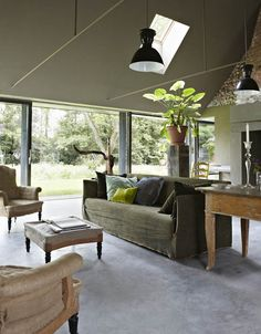 Earthy chalky colors-Eclectic Trends