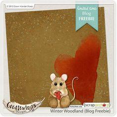 "Photo from album ""Winter Woodland"" on Yandex. Scrapbook Supplies, Christmas Themes, Views Album, Winter Wonderland, Something To Do, Woodland, Dinosaur Stuffed Animal, Wings, Joy"