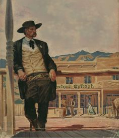 Cover art - Wyatt Earp