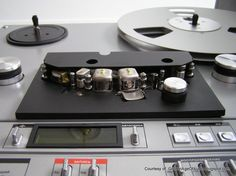 """Vintage Russian Reel To Reel Tape Deck"" !...  http://about.me/Samissomar"