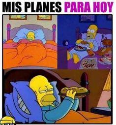 Mis Planes Para Hoy http://chiste.cc/1NedGSX  #Chistes #Humor