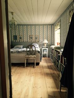 My home. Bedroom. 16th century. 1700-talet.