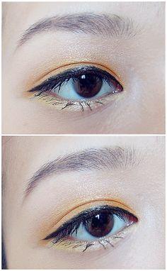 Eye makeup inspiration #sunny #eyes #makeup