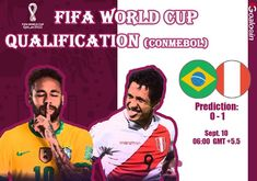 #FIFA #WorldCupqualification #CONMEBOL #Brazil #Peru