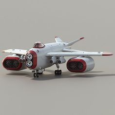 Space Superiority Fighter HD available in OBJ, BLEND, ready for animation and other projects Sci Fi Models, Spaceship Design, Sci Fi Ships, Aircraft Design, Ship Art, Sci Fi Fantasy, Sci Fi Art, Dieselpunk, Military Aircraft