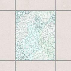 Fliesenaufkleber   Feines Spinnennetz 25x20 Cm   Fliesensticker Set
