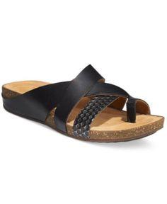 993bbe18b4ce Clarks Artisan Women s Perri Bay Flat Sandals Shoes - Sandals   Flip Flops  - Macy s
