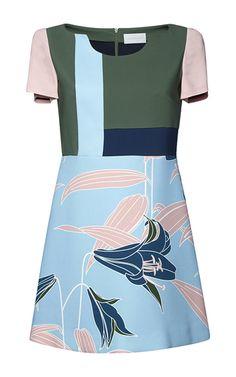Jyoti Printed A Line Dress by Pardens