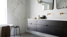 Private residence, Kristiansand - HAMRAN Kristiansand, Oslo, Double Vanity, Bathtub, Studio, Bathroom, Home, Standing Bath, Washroom