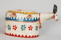 Arte Popular do Brasil: Zé Caboclo Bumba-meu-boi, cerâmica. Acervo Museu de Arte Popular do Recife