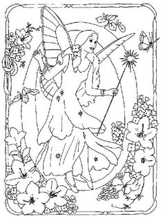 coloring page Alphabet fairies on Kids-n-Fun. Coloring pages of Alphabet fairies on Kids-n-Fun. More than coloring pages. At Kids-n-Fun you will always find the nicest coloring pages first! Butterfly Coloring Page, Fairy Coloring Pages, Alphabet Coloring Pages, Cool Coloring Pages, Coloring Books, Free Coloring Sheets, Free Adult Coloring Pages, Flower Fairies, Creations