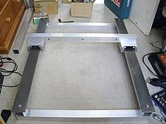 Aluminium Extrusion CNC Router Build-cold-rolled-steel-test-fit-jpg