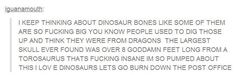 This excited rant: