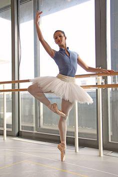 "royalballet: "" Royal Ballet dancer Francesca Hayward. "" Get the look: Yumiko Jessica (here) in nylon cyan or nylon moontide with nylon atoll, nylon mirror, microfiber peri, or techni boat trim"