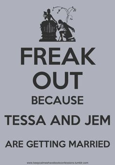 The Infernal Devices: Keep Calm #Jem #Tessa WORST PART EVER!! SHE BELONGS WITH WILL!!!!!!!!!!!!!!!!!!!