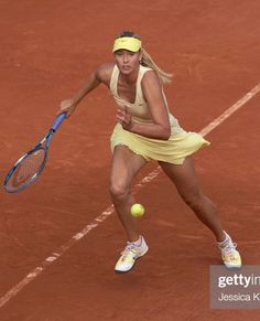 Maria Sharapova, Sharapova Tennis, Tennis Clothes, Tennis Outfits, Sport Tennis, Soccer, Tennis Players Female, Female Athletes, Sport Girl
