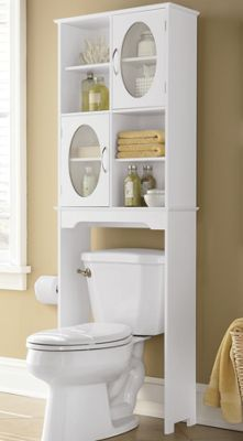 Freshen up with buy now, pay later bathroom furniture! Browse smart bathroom space savers and furniture, including towers, over-the-toilet cabinets and storage shelves. Small Bathroom Storage, Bathroom Design Small, Bathroom Interior Design, Bathroom Laundry, Toilet Storage, Shoe Storage, Laundry Rooms, Bathroom Organization, Organization Ideas