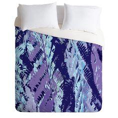 Rosie Brown Amethyst Ferns Duvet Cover | DENY Designs Home Accessories