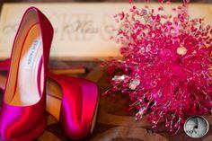 My crystal wedding bouquet!! ♥♥