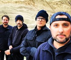 Ghost Adventures: Jay, Aaron, Zak and Billy.